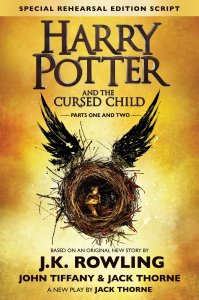 Harry Potter and the Cursed Child by J.K. Rowling book cover